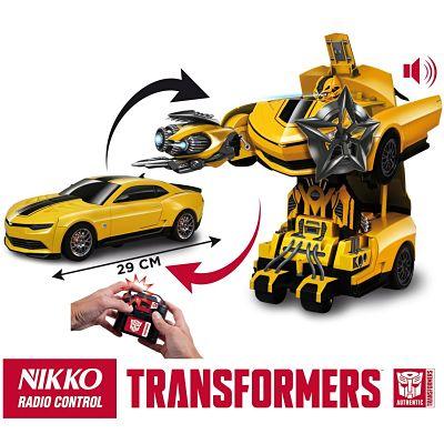 Los mejores juguetes de radiocontrol Bumblebee transformación