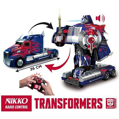 Los mejores juguetes de radiocontrol Optimus Prime transformación