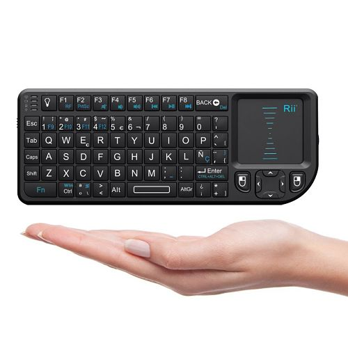 Los mejores touchpads inalámbricos del mercado Rii Mini Elegance Wireless RT-MWK01+