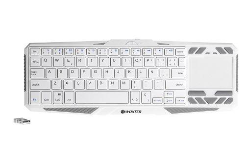 Los mejores touchpads inalámbricos del mercado Woxter Keyboard TV 920 Diseño