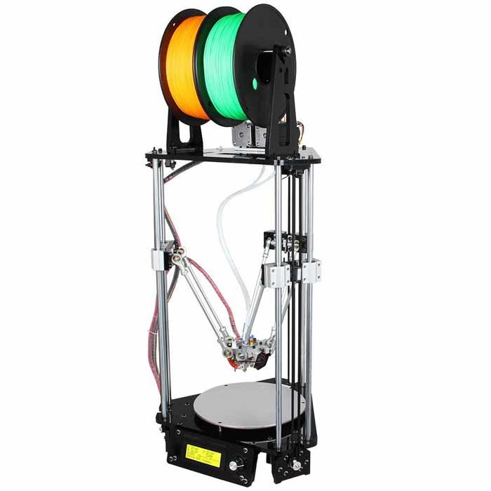 Impresora 3D, cual es la mejor del mercado con mas de un extrusor