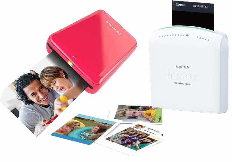 Impresoras fotográficas portátiles instantáneas