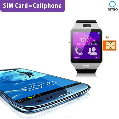 mejor smartwatch barato memteq gv05 Sim Card
