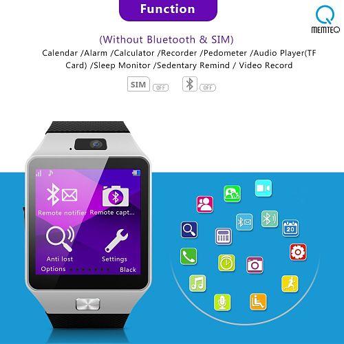mejor smartwatch barato memteq gv05 sin bluetooth