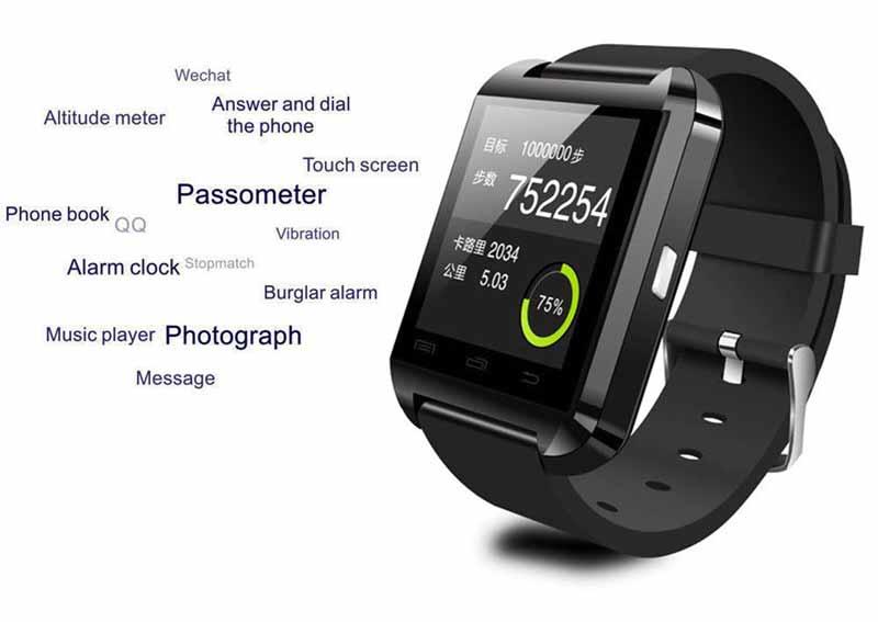 Los mejores smartwatch barato por menos de 50 euros U8 UWatch